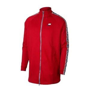 Nike Sportswear Mens Taped Bag Logo Jacket Large